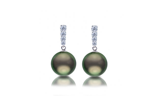 Imperial Pearls - thitian-earring-926040BWH.jpg - brand name designer jewelry in Dallas, Pennsylvania