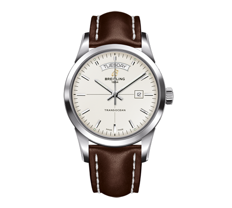 Breitling - transocean_day_date_217-1.png - brand name designer jewelry in Seattle, Washington