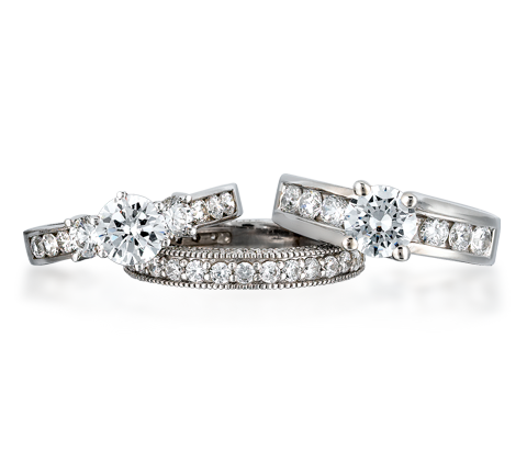 Signature Bridal - uniqueset05.png - brand name designer jewelry in Foxborough, Massachusetts