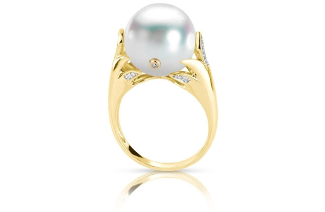 Imperial Pearls - yellow-claw-ring-919948.jpg - brand name designer jewelry in Pleasanton, California