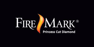 "FireMark diamonds are never cut to maximize the weight of a diamond. They're always cut to maximize beauty. This assures maximum brilliance, fire and sparkle. Look for the FireMark® logo inscribed on your diamond's girdle to assure this is truly a FireMark Princess Cut Diamond. <br><br> ""Look into her eyes and tell her with absolute confidence, these are the most perfectly cut Princess Diamonds in all the world."""