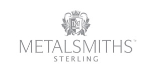 The Metalsmith Sterling hallmarks represent the highest standard silver the world over. Hallmarking, a British standard tradition, guarantees a linkage between ownership to the highest level of standards. The first hallmark represents the company Metalsmiths Sterling. The second represents the commonwealth, the birthplace of Metalsmiths Sterling. Sterling is the designation for the industry's highest standard of sterling silver. The crown represents the monarchy of the commonwealth, the level of respect to which we aspire to treat all of our valued customers.