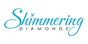 Shimmering Diamonds - The Shimmering Diamonds® Collection is a dazzling presentation of sparkle and fire in motion. Suspended within a 14K gold...