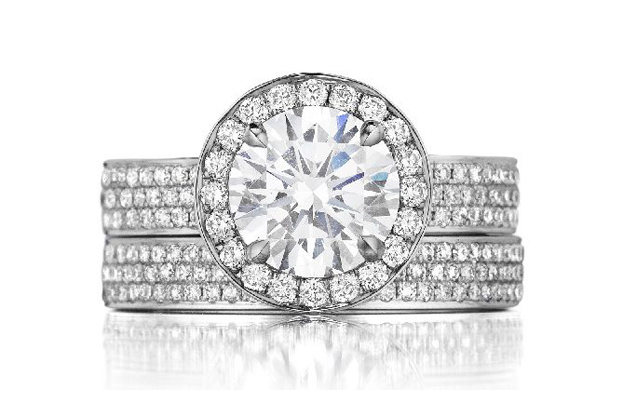 The Henri Daussi Collection Wedding Engagement Rings
