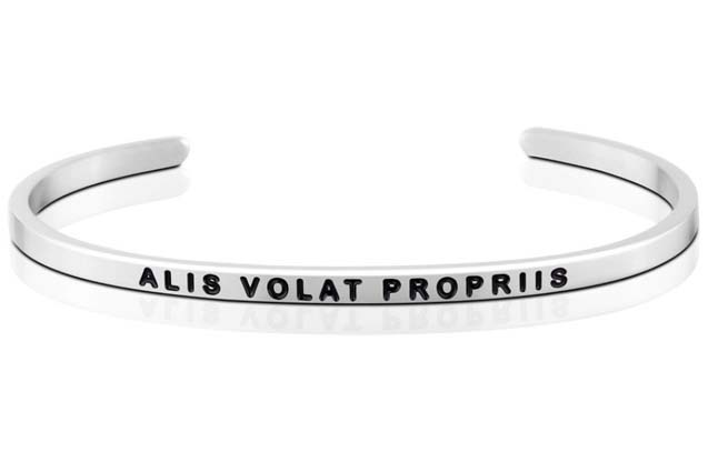MantraBand - Alis_Volat_Propriis_bracelet.jpg - brand name designer jewelry in Mount Pleasant, Michigan