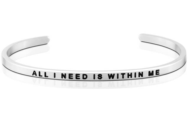 MantraBand - All_I_Need_Is_Within_Me_bracelet.jpg - brand name designer jewelry in  Pittsburgh, Pennsylvania
