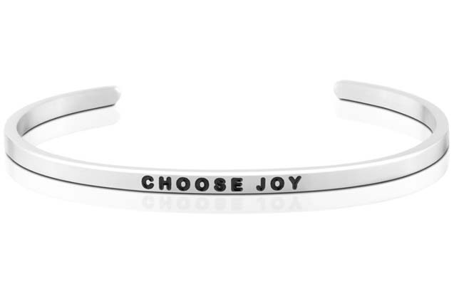 MantraBand - Choose_Joy_bracelet.jpg - brand name designer jewelry in Mount Pleasant, Michigan
