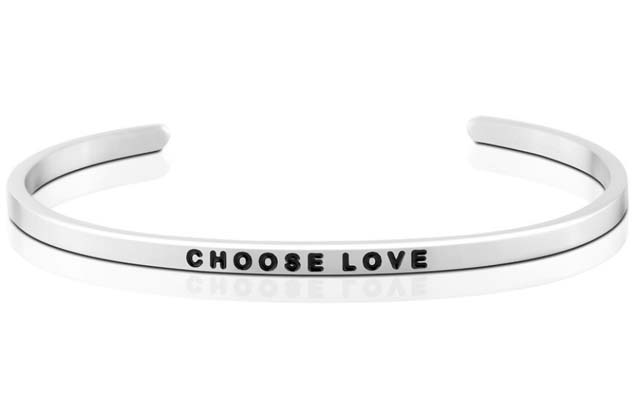 MantraBand - Choose_Love_bracelet.jpg - brand name designer jewelry in Mount Pleasant, Michigan