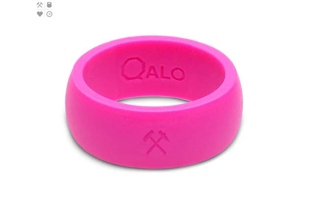 Qalo - Color_Pink_Mens_Love.jpg - brand name designer jewelry in Placentia, California