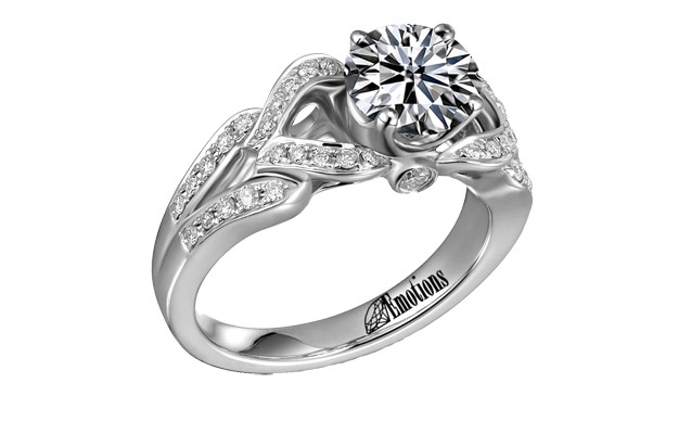 Diamond Emotions - ER9266.png - brand name designer jewelry in Saint Johns, Michigan