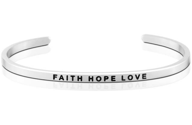 MantraBand - Faith_Hope_Love_bracelet.jpg - brand name designer jewelry in Mount Pleasant, Michigan