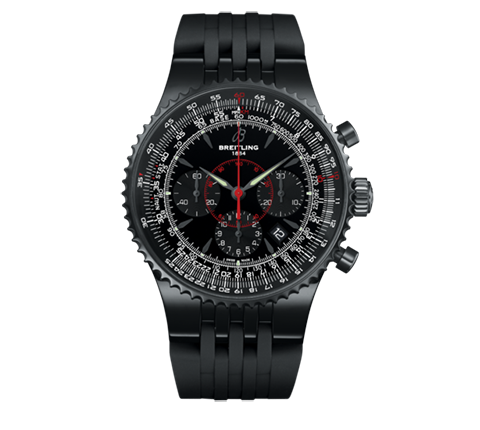 Breitling - montbrillant-47-blacksteel.png - brand name designer jewelry in Morgantown, West Virginia