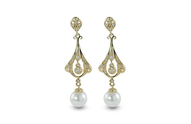 Imperial Pearls - vintage-earring-926888.jpg - brand name designer jewelry in Merced, California